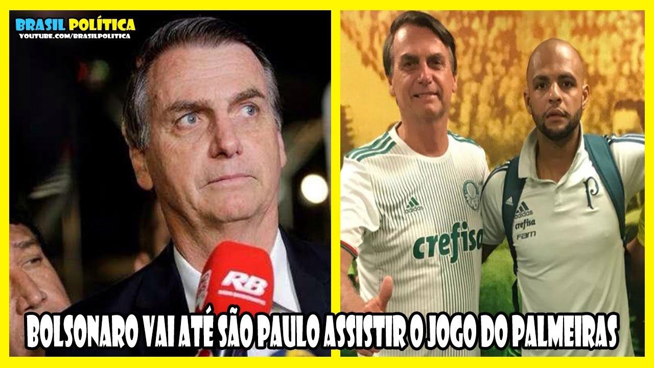 Confira Entrevista de Bolsonaro No Estádio do Palmeiras em São Paulo ... 2881cc3e1447b