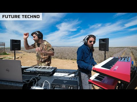 Y Do I - Future Minimal Techno Mix 2020 Nature In Israel (DJ Set Live)