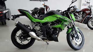 Обзор мотоцикла Kawasaki Z250SL 2016 года