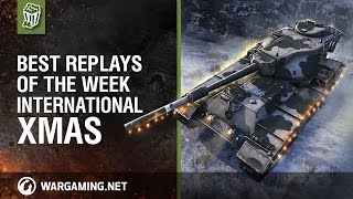 World of Tanks PC - Best Replays of the Week International - Christmas Edition