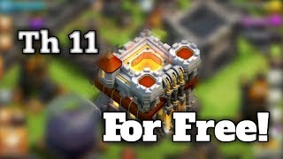 Clash of Clans Th11 free account 2017 (100% Real)