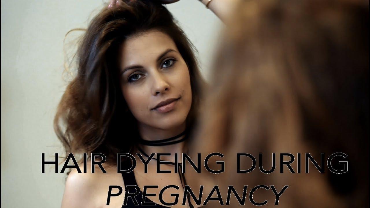 Dyeing Your Hair During Pregnancy With Mia El Mendelek