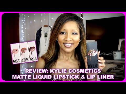 kylie-cosmetics---matte-liquid-lipstick-&-lip-liner-review