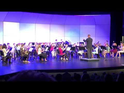Maltby Intermediate School Band Concert - Spring 2018 (4K)