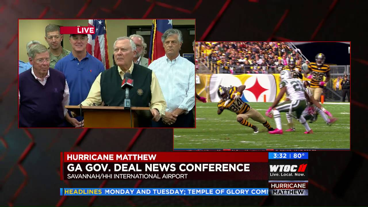 See What Georgia Governor Said About WTOC On Live TV - Marketshare