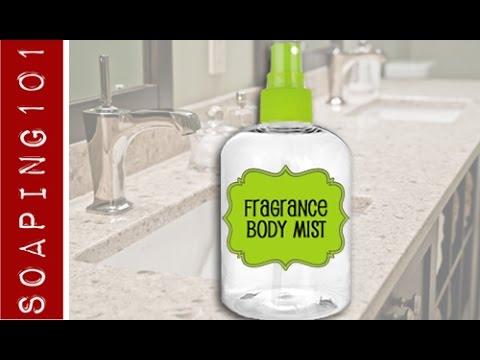 DIY Body Mist {fragrance body spray}