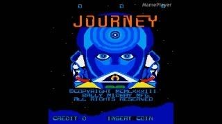 Journey 1983 Bally Midway Mame Retro Arcade Games