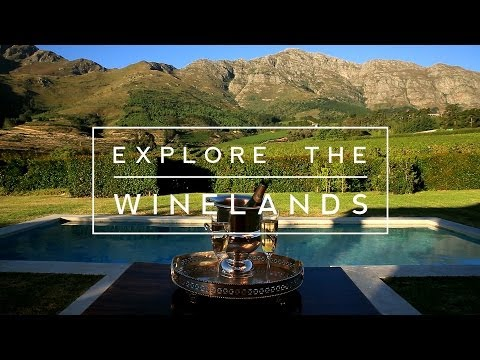 Explore the beauty of the Cape Winelands