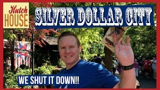 WE SHUT IT DOWN! | Silver Dollar City | What to do in Branson, Missouri | Hutch House Family Vlog