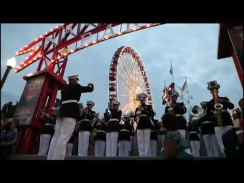 Marine Corps Band New Orleans performs in Chicago