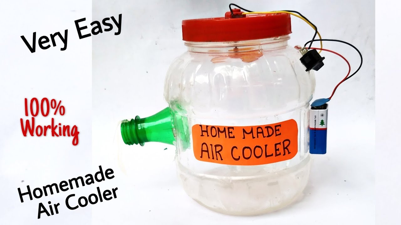 Very Easy Homemade Air Cooler।। How to Make a Powerful Air Cooler Homemade DIY।। Air Cooler Making