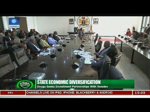 Enugu Seeks Investment Partnership With Sweden