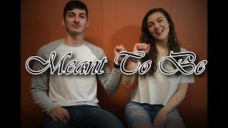 Bebe Rexha feat. Florida Georgia Line - Meant To Be (Cover by Christopher Fiorenza and Hannah Foley)