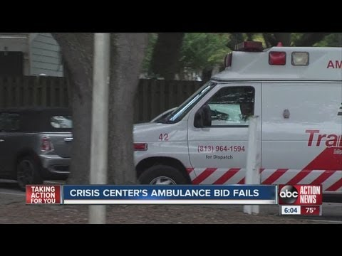 Ambulance monopoly an issue for Crisis Center of Tampa