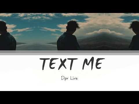 DPR LIVE - text me  Lyrics [Han   Rom   Eng]