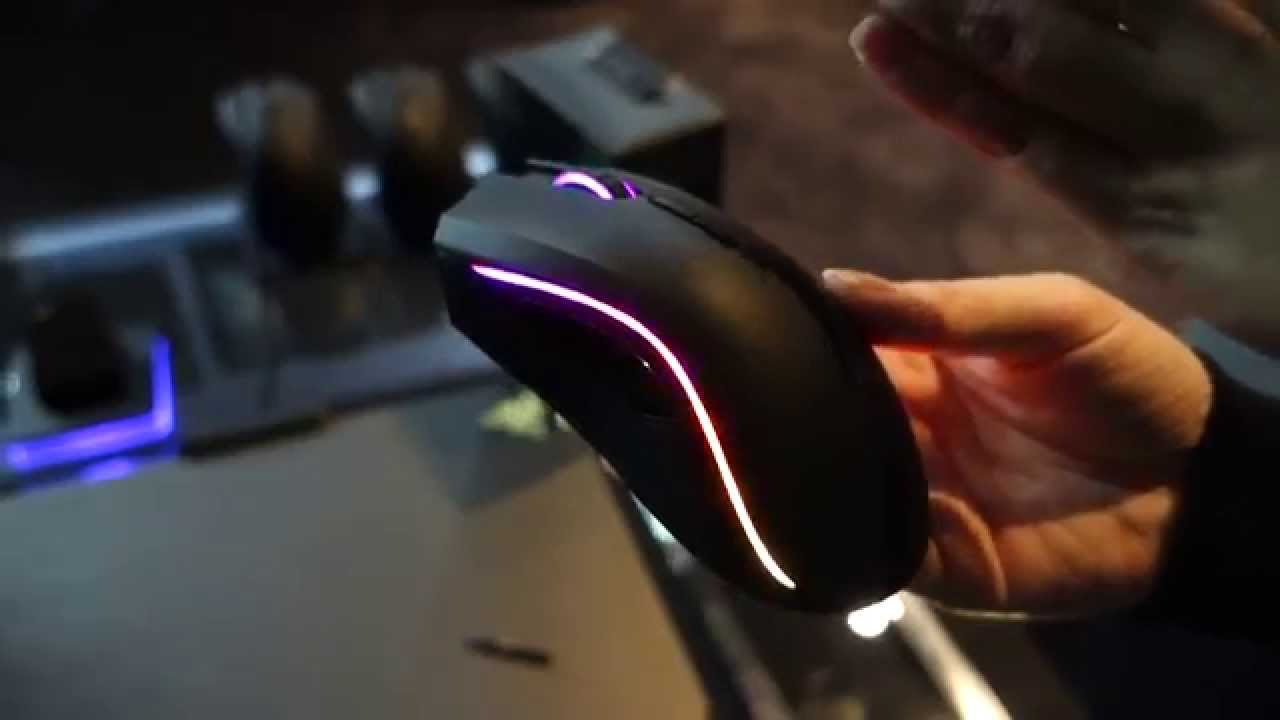 how to change the rgb razer mouse