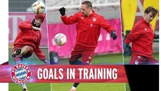 FC Bayern – Torschussübung