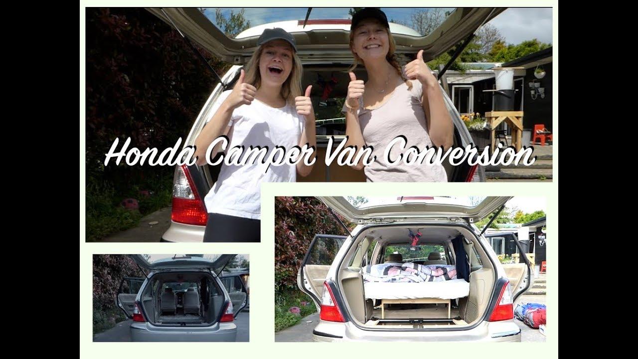 Honda Odyssey Camper >> Honda Odyssey CAMPER VAN CONVERSION I CALISEE in NZ #2 - YouTube