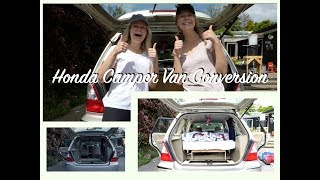 Honda Odyssey Camper Van Conversion I Calisee In Nz #2