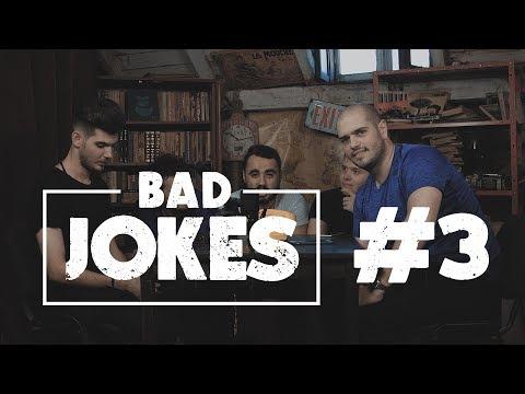 BAD JOKES 3 #NoapteaTârziu | Cuza & Quick VS Bromania & Rusu
