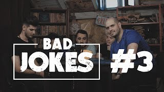 BAD JOKES 3 #NoapteaTârziu | Cuza & Quick VS Bromania & Rusu