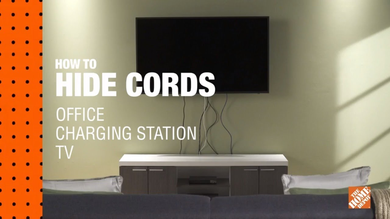 How To Hide Wires Hide Tv Cables More The Home Depot Canada