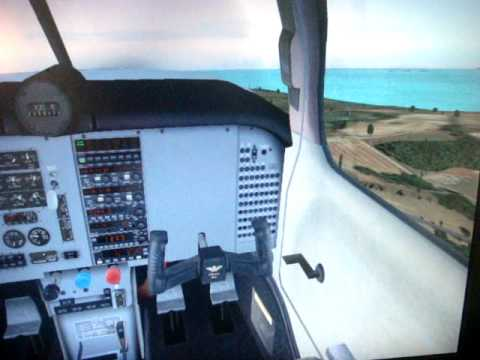 Landing a Mooney Bravo in Anguilla