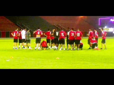 Al-Riyadh- club football team Practice ( Saudi Arabia)