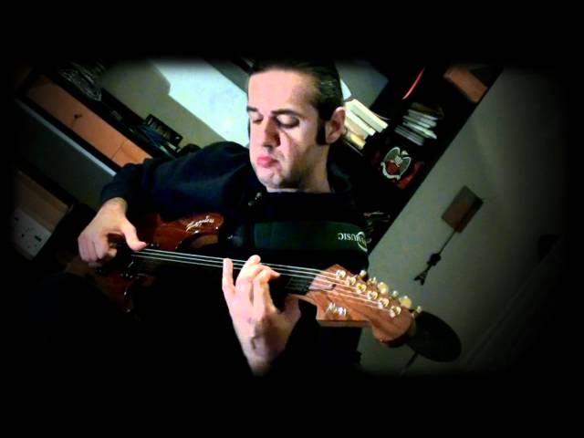 MARCELLO ZAPPATORE plays AND I LOVE HER (Lennon/McCartney) on fretless guitar