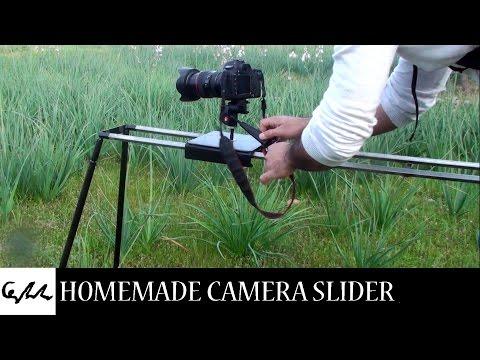 Homemade camera slider