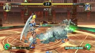 Tournament of Legends - Wii - Jupiter vs. Kara gameplay footage official video game trailer