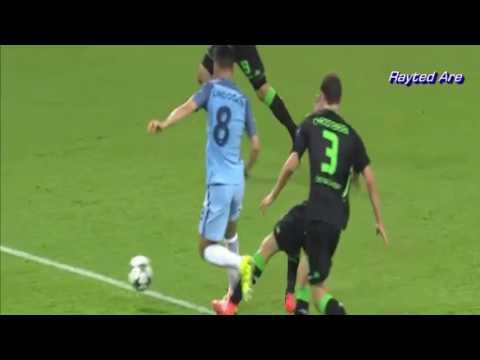 Ilkay Gundogan (Manchester City) vs Borussia Monchengladbach (H) (16/17 Champions League)