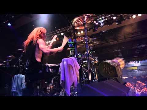 Resist And Bite Sabaton LIVE HD - Prague, Feb 7th -  Hannes Van Dahl [drum Cam]