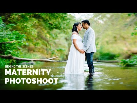 maternity-photoshoot-behind-the-scenes,-pregnancy-photo-shoot-with-beautiful-indian-family