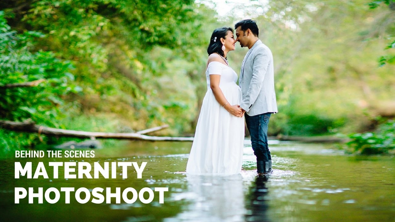 Maternity photoshoot behind the scenes pregnancy photo shoot with beautiful indian family youtube