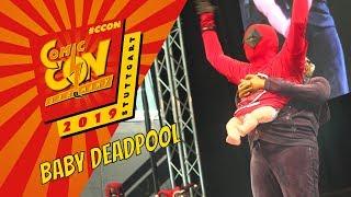 Comic Con Germany 2019 - Baby Deadpool Cosplay (Überragend!)