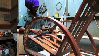 Caribbean Small Woodwork Shop How To Restore A Chair