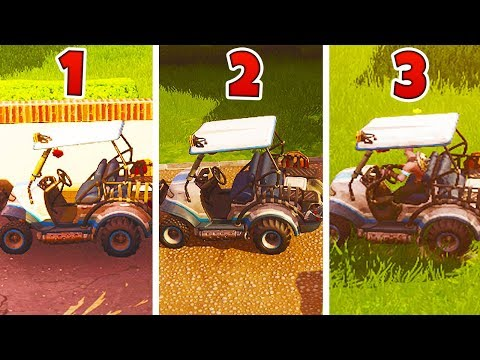How to Get a GOLF CART (ATK) EVERY TIME in Fortnite...| Chaos