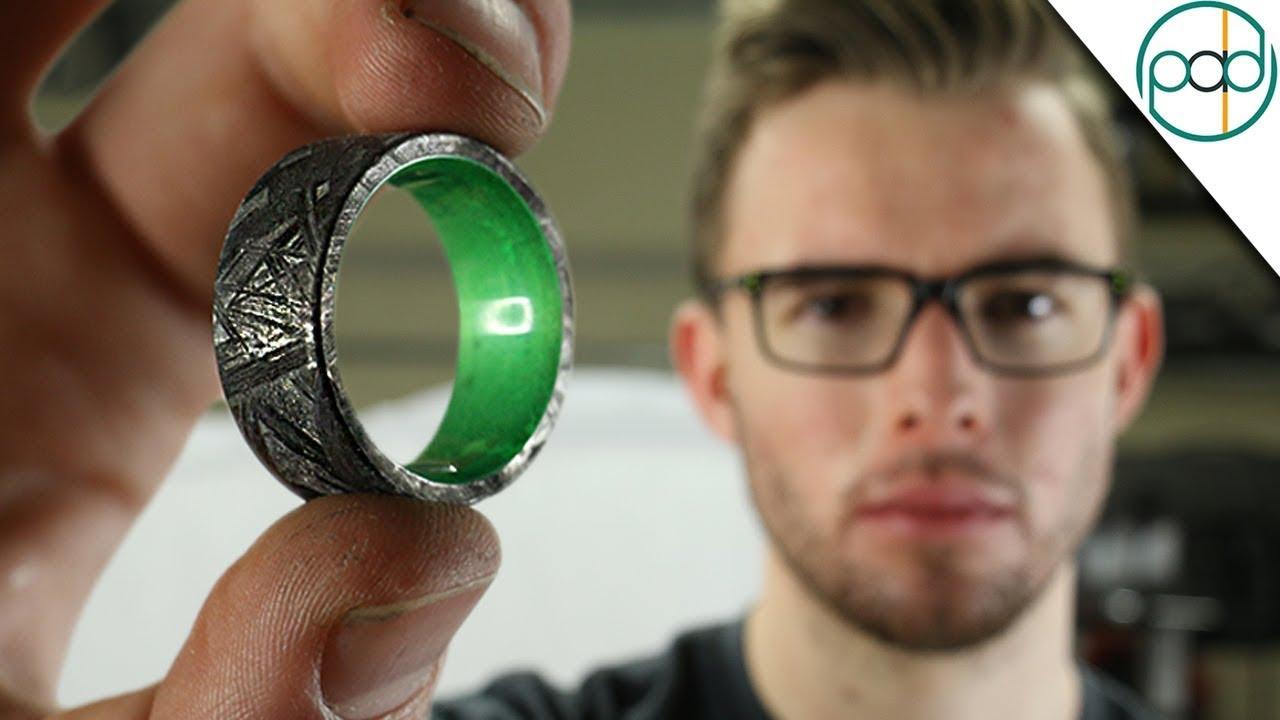 Making Meteorite Ring