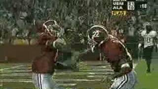 Amazing Football Catch by Alabama