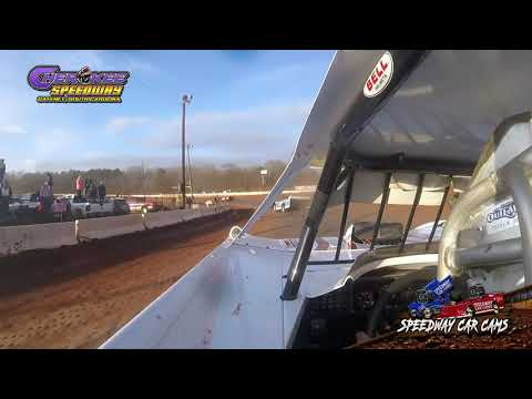 #101 Casey Roberts - Super Late Model - 1-26-20 Cherokee Speedway - In-Car Camera