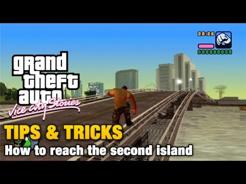 GTA Vice City Stories - Tips & Tricks - How to reach the second island (Vice City Beach)