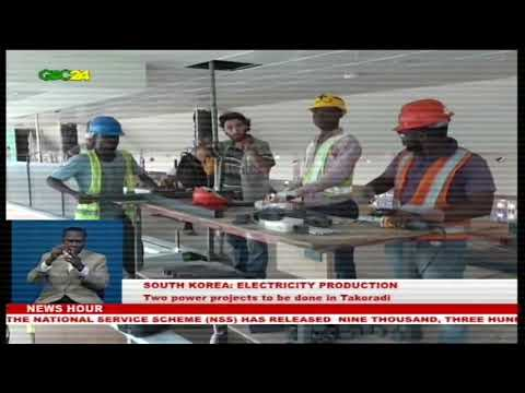 Two power projects to be done in Takoradi by the end of the year