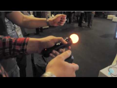 "Playstation ""Move"" Motion Controller Gameplay!"