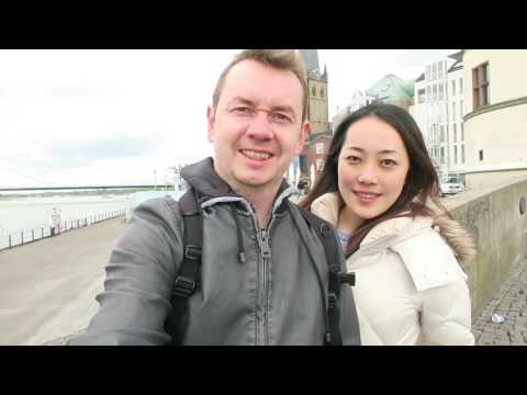 Hana and Stas: Dusseldorf trip