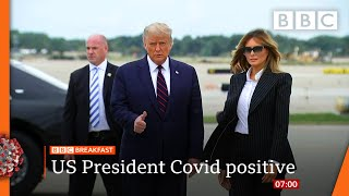 Trump and first lady test positive for coronavirus @BBC News LIVE on iPlayer ? - BBC