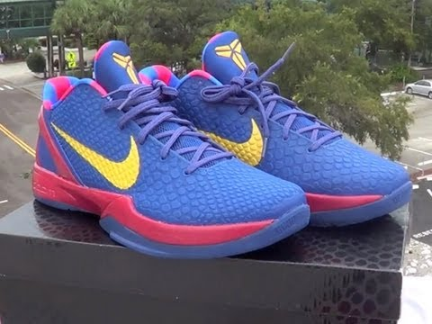 promo code a4a89 6dd1a Kobe VI Barcelona Review + ON FOOT - YouTube