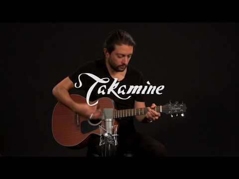 Takamine GX11ME-NS Taka-Mini Travel Electro Acoustic Demonstration