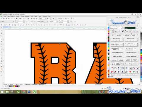 How to create a unique design with TRW True Type Fonts and the TRW Stone Wizard Software