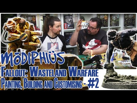 Fallout: Wasteland Warfare - Painting, Building And Customising - #2